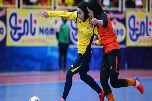 اعلام برنامه 5 هفته از دور برگشت مسابقات لیگ برتر فوتسال بانوان