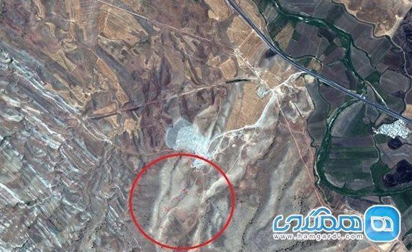 دیواری تاریخی و مهم در غرب ایران کشف شد