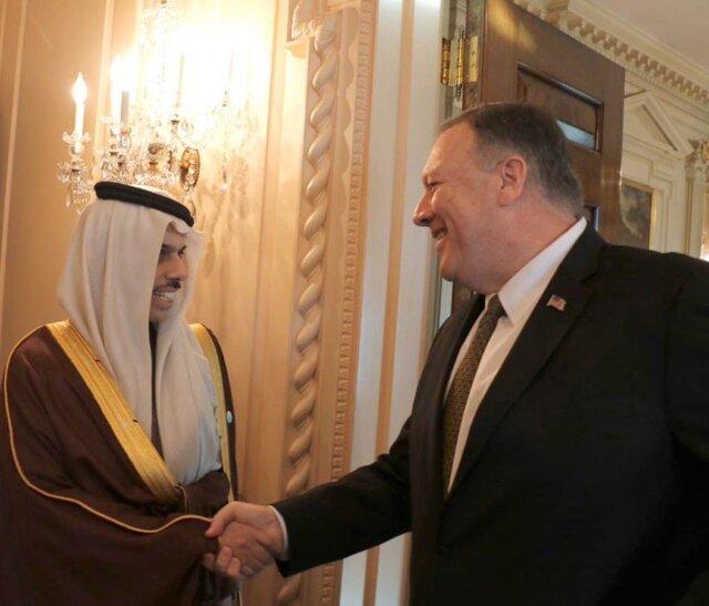 گفتگوی وزرای خارجه عربستان و آمریکا با موضوع تحولات منطقه