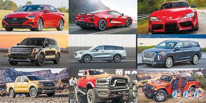 نامزدهای جایزه خودرو سال 2020 آمریکا اعلام شدند