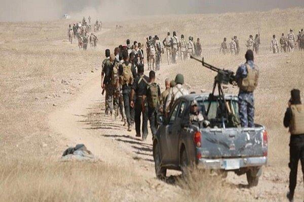 استقرار گسترده حشد شعبی در مناطق راهبردی برای مقابله با داعش