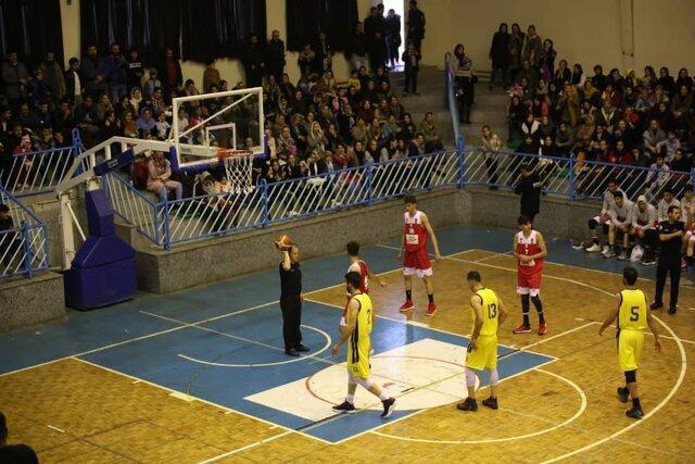 بسکتبال کردستان مهرام تهران را به زانو درآورد